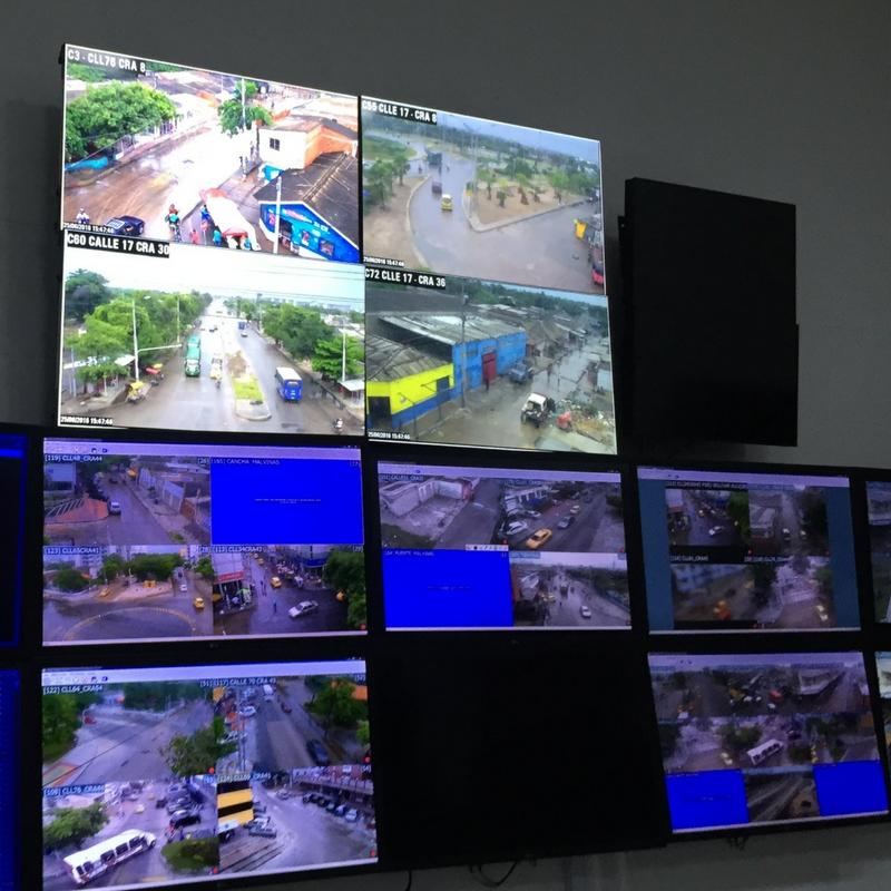 Centros de Monitoreo y Salas de Crisis