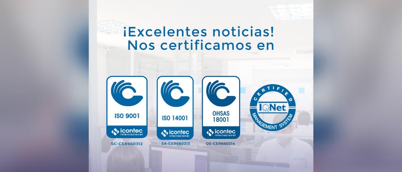 Certificaciones de Calidad - AP Ingeniería