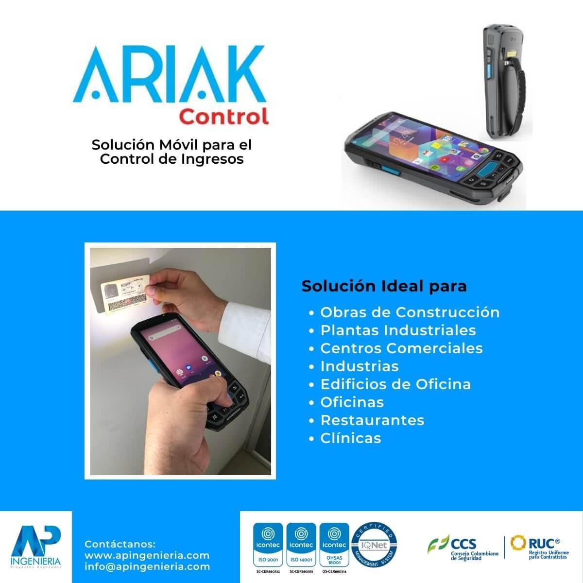 Solución Móvil para el Control de Ingresos | AP Ingeniería