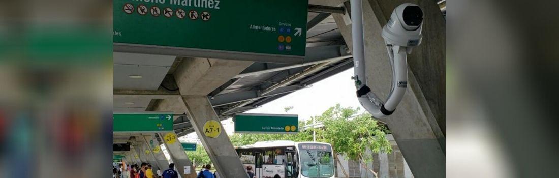 Instalación de Cámaras Térmicas en Transmetro, estación el Joe Arroyo | AP Ingeniería