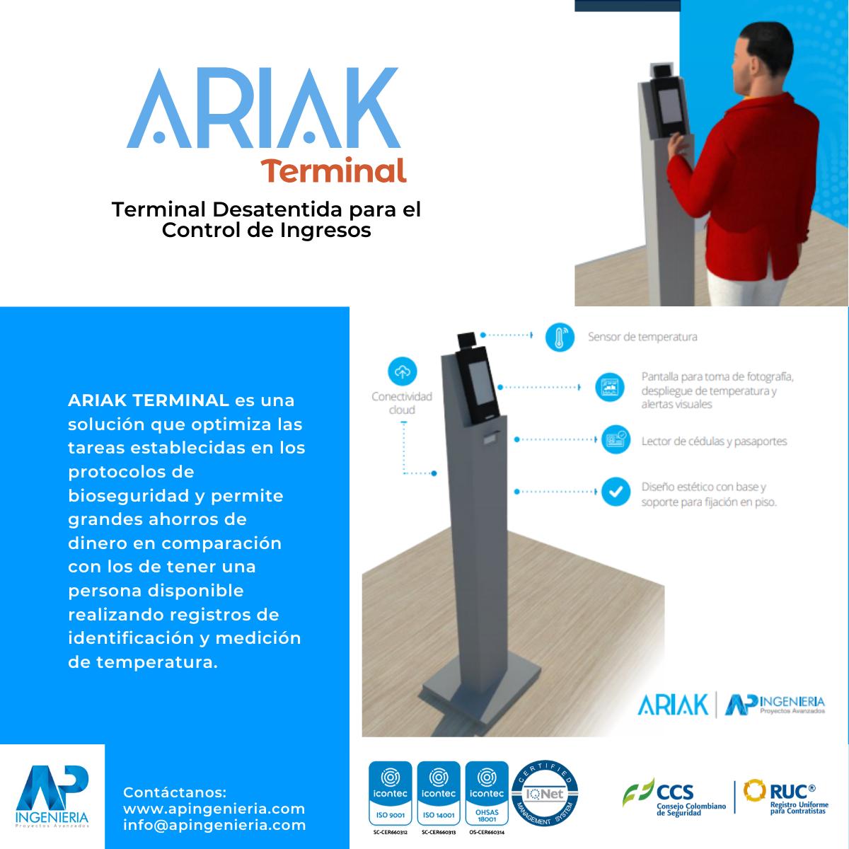 Terminal Desatendida para el Control de Ingresos | AP Ingeniería